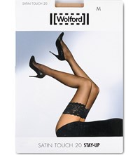 Wolford Satin Touch 20 Hold Ups Cosmetic