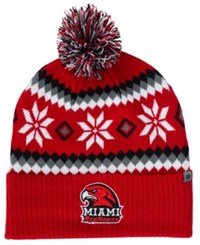 Top Of The World Miami Ohio Redhawks Fogbow Knit Hat