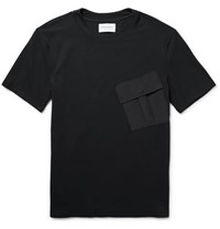 Public School Foss Stretch Jersey T Shirt Black