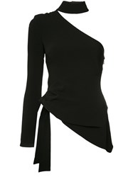 Cinq A Sept Off Shoulder Blouse Black