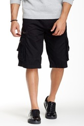 Antique Rivet Harper Cargo Short Black