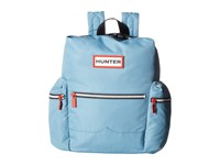 Hunter Original Mini Top Clip Nylon Backpack Pale Blue Backpack Bags
