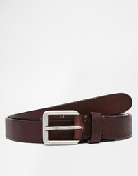 Selected Homme Brook Leather Belt Black