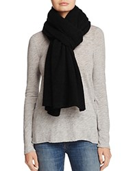 Bloomingdale's C By Cashmere Wrap 100 Exclusive Black