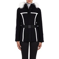 Post Card Scotia Jacket Nero Blk W White Trim