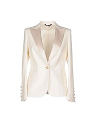 Brian Dales Suits And Jackets Blazers Women Ivory