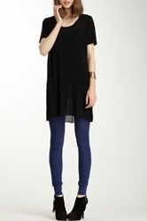 American Apparel Tri Blend Rib Legging Black