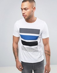 Jack And Jones Color Block T Shirt White