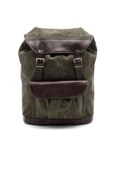 Filson Rugged Canvas Rucksack Army