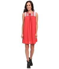 Rock And Roll Cowgirl Sleeveless Dress D5 7667 Hot Pink Women's Dress