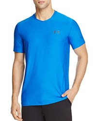 Under Armour Supervent Fitted Tee Blue Marker
