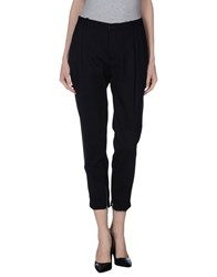 H Sio Trousers Casual Trousers Women Black