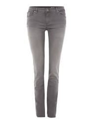 Salsa Wonder Push Up Skinny Jean Grey