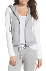 Make Model Firecracker Zip Up Hoodie Grey Pearl Heather