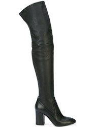 Coach Giselle Over The Knee Boots Black