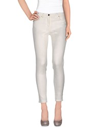 22 Maggio Trousers Casual Trousers Women Ivory