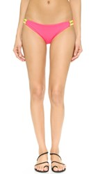 Basta Surf Zunzal Reversible Bikini Bottoms Hot Pink