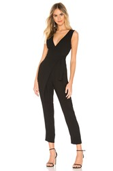 Bcbgeneration Wrap Front Jumpsuit Black