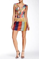 Coco And Tashi Colored Pencil Dress Multi