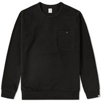 Head Porter Plus Pocket Sweat Black