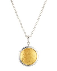Gurhan Amulet Round Pendant Necklace Multi