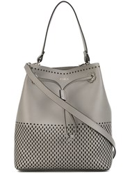 Furla 'Stacy S' Hobo Bag Women Leather One Size Grey