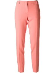 Emilio Pucci Cropped Tailored Trousers Pink And Purple