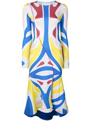 Esteban Cortazar Surf Colour Block Dress Multicolour
