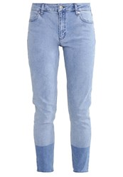 2Ndone Nicole Slim Fit Jeans Bleached Mix Bleached Denim