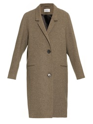 Lemaire Lambswool Blend Oversized Coat