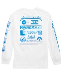 Lrg Men's Brand Loyalty Long Sleeve T Shirt White