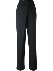 Jil Sander Loose Fit Tailored Trousers Grey