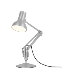Anglepoise Type 75 Mini Metallic Desk Lamp Silver Luster