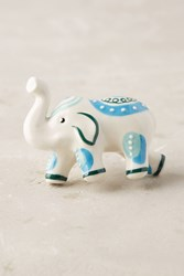 Pop Fanette Elephant Knob Blue