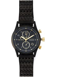 Triwa 'Midnight Lansen Chrono' Watch Black