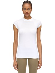 Falke Riky Techno T Shirt White