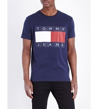 Tommy Jeans 90S Cotton Jersey T Shirt Peacoat