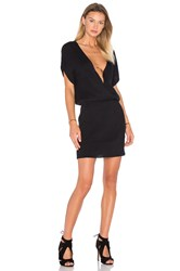 Ayni Sayi V Neck Sweater Dress Black