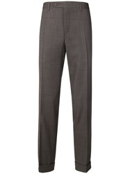 Canali Smart Trousers Brown