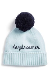 Kate Spade New York Daydreamer Beanie Blue Icy Blue Rich Navy