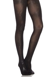 Pretty Polly Baroque Print Tight Black