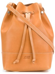 Jost Vantaa Hobo Bag Yellow And Orange