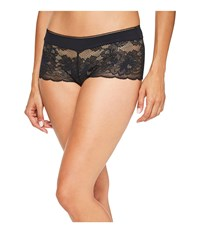 Wacoal Fire And Lace Boyshorts Black Women's Underwear