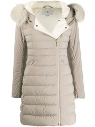 Peuterey Fitted Padded Coat 60