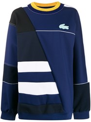 Lacoste Logo Colour Block Jumper 60