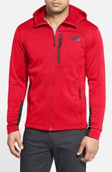 The North Face Men's 'Canyonlands' Full Zip Hoodie Tnf Red