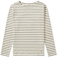 Armor Lux 2297 Long Sleeve Mariniere Heritage Tee Neutrals