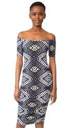 Rachel Pally Mavery Dress Indigo Ikat