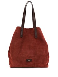 Closed Relaxed Shoulder Bag Red
