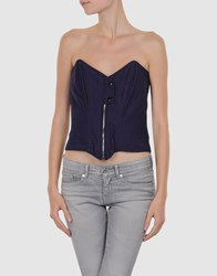Alternativa Topwear Tube Tops Women Mauve